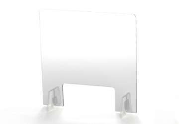 Free Standing Safety Shield 3 - A